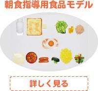 朝食指導用食品モデル